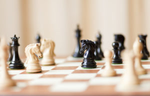 chess-peices-on-board